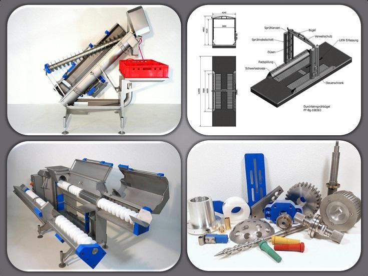 Maschinen & Ersatzteile